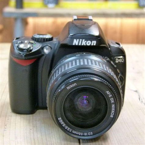 used nikon d40 digital slr with af s 18 55mm lens