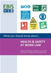 Booklet Health And Safety At Work Law