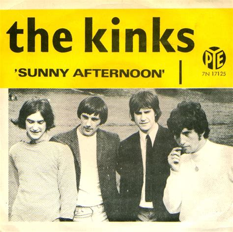 kinks picture book lyrics afternoon i m not like everybody else