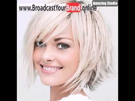 short bob frisuren fuer duennes feines haar youtube