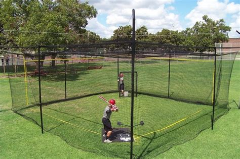 how to build a backyard batting cage pinterest the world s catalog of ideas