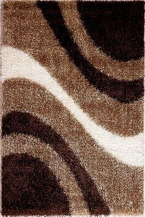 modern  beige brown area rug