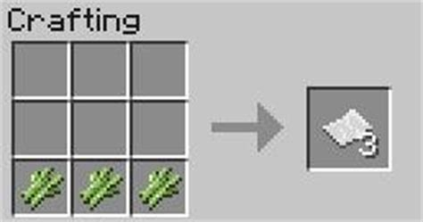 paper crafting recipe miscellaneous crafting recipes minecraft guide