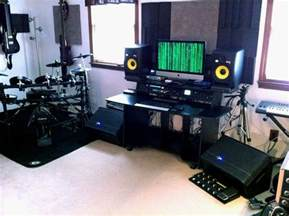 17 best ideas about home studio setup on