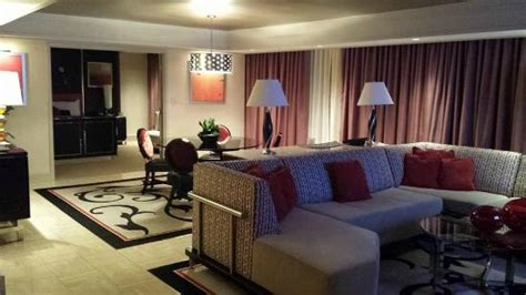 mirage 2 bedroom suite living area of one bedroom tower suite picture of the