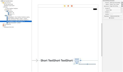 xcode textview layout android constraintlayout chains and text ellipsis