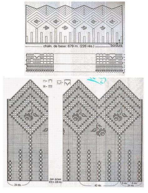 cenefas crochet cenefas a crochet patrones gratis manualidades y