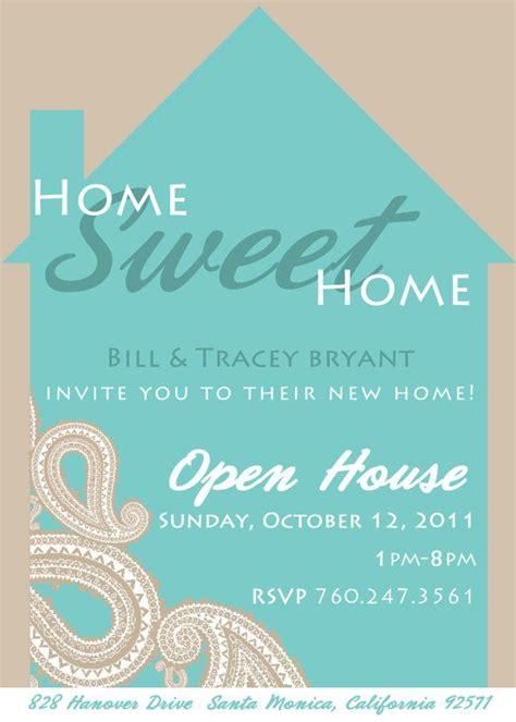 house invitation templates paisley home sweet home housewarming invitation