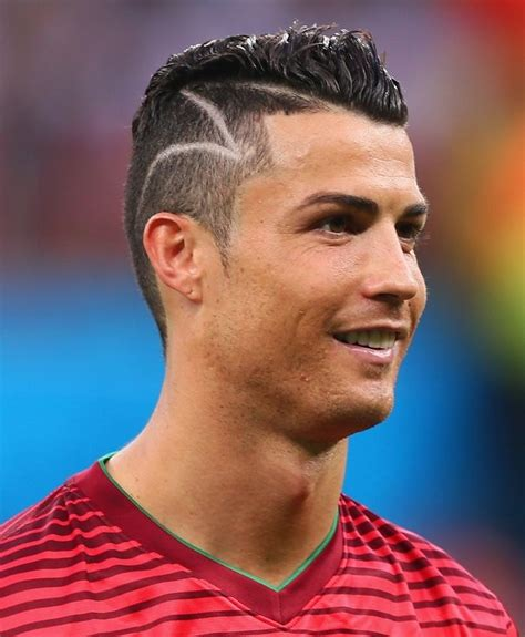 New Cristiano Ronaldo Hairstyle 2015 by Pictures Hairstyles 2015 Cristiano Ronaldo