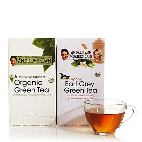 Andrew Tea 50 variety kit green tea and earl grey green tea