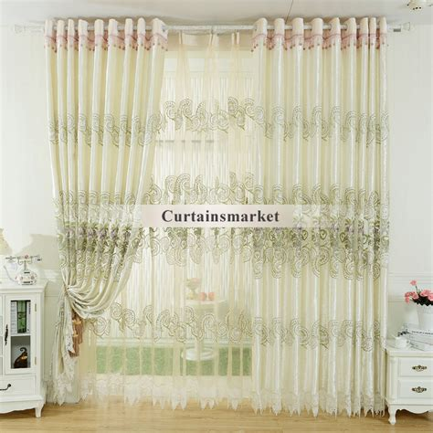 Bedroom Fancy Curtains In White Color Of Special Design | bedroom fancy curtains in white color of special design