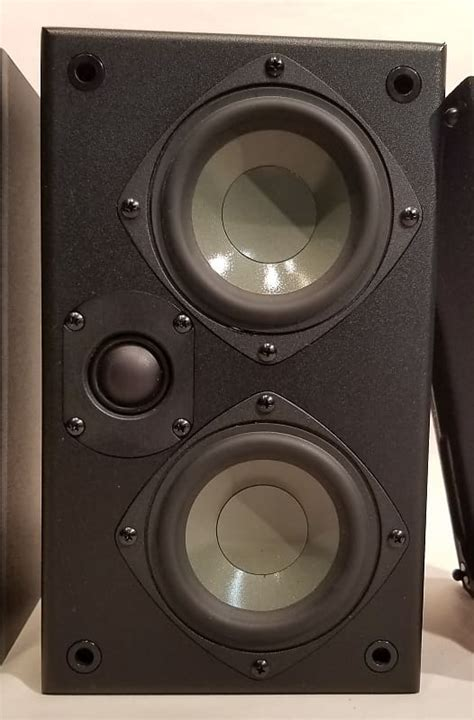 ascend acoustics htm  home theater monitor black reverb