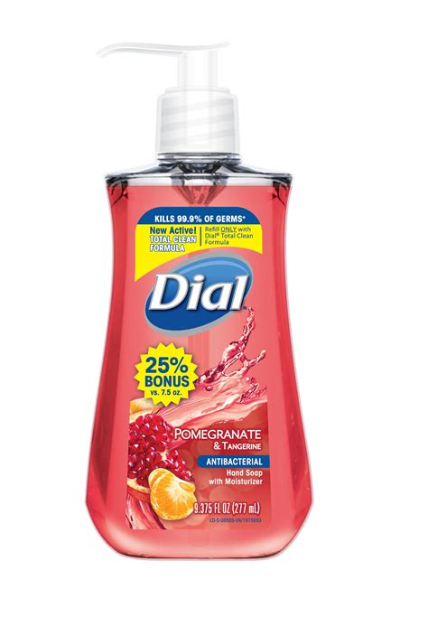 label design for liquid soap dial antibacterial hand wash the dial corporation a