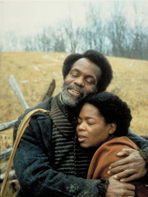 danny glover oprah winfrey oprah winfrey talks career the color purple beloved the