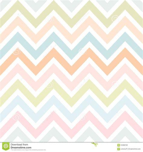 zig zag pattern pastel vector zigzag seamless pattern stock vector illustration