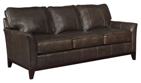 broyhill leather couch broyhill perspectives leather sofa l445 3