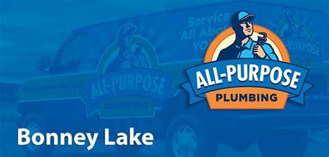 Bonnie Plumbing by Bonney Lake Plumber All Purpose Plumbing Drain Cleaning