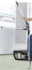 Rv Stairs With Handrails Torklift Glowguide Handrail For Campers And Rvs With
