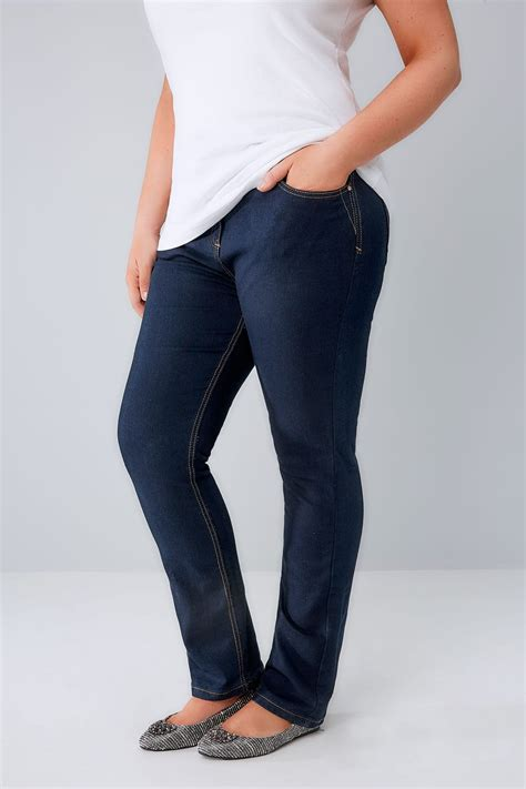 Where Can I Use My Target Visa Gift Card - indigo blue straight leg ruby jeans plus size 14 to 36