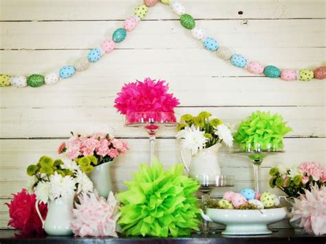 Garland Flower Original 1 how to make a painted easter egg garland hgtv