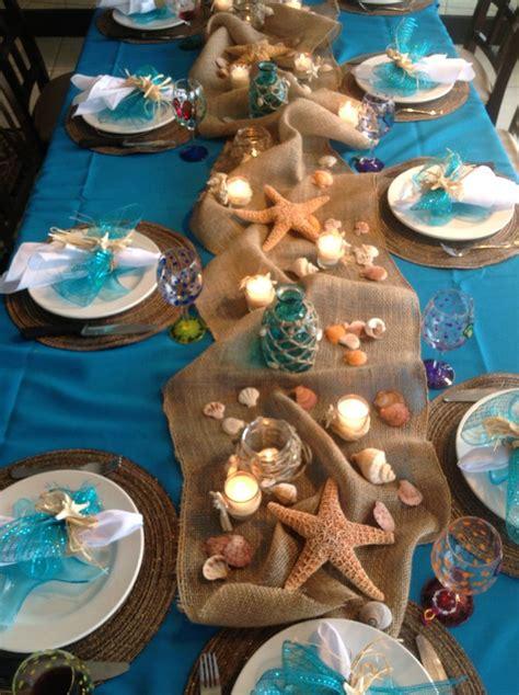 easy arrangement centerpieces beach wedding ideas  wedding trend