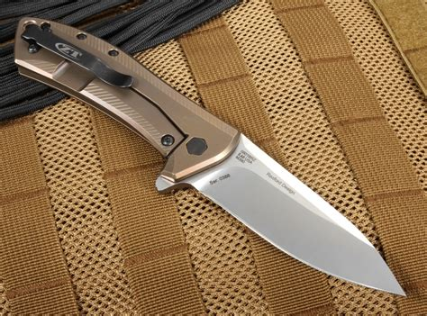 m390 steel zero tolerance zt 0801brz with m390 steel limited edition