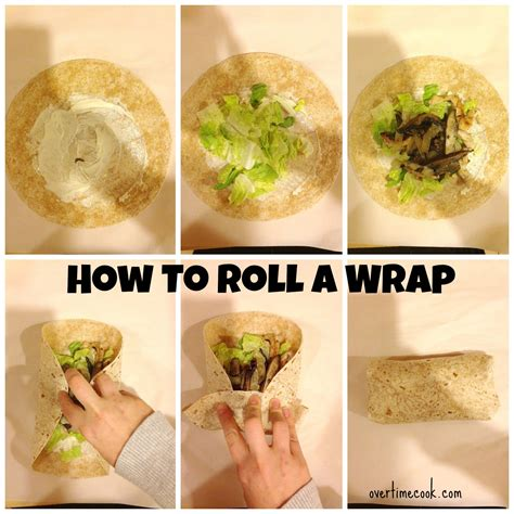 to wrap grilled chicken and portobello wraps with garlic mayo