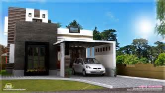 Home Design For 1200 Square Feet by 1200 Square Feet Contemporary Home Exterior Kerala Home