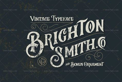 design font truetype دانلود فونت انگلیسی brighton مناسب برای طراحی گرافیکی پی