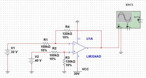 integrator circuit on multisim op integrator circuit multisim 28 images technological skills integrator lifier circuit
