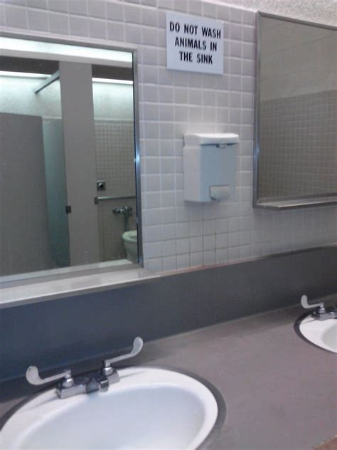 funny bathrooms 19 funny bathroom signs photos huffpost