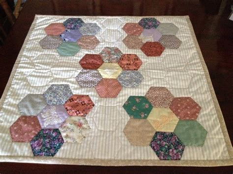 Hexagon Patchwork Blanket - blankets of hexagon quilt central coast handweavers