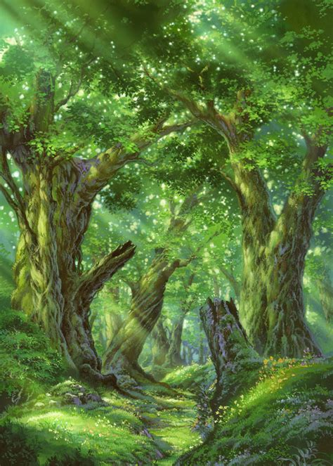 forest art etrian odyssey art gallery