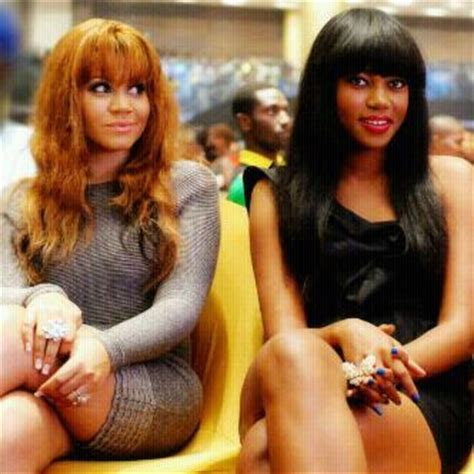 actress ynovnne nelson with bob hair gist dey ooo who rocked the fringe hairstyle better