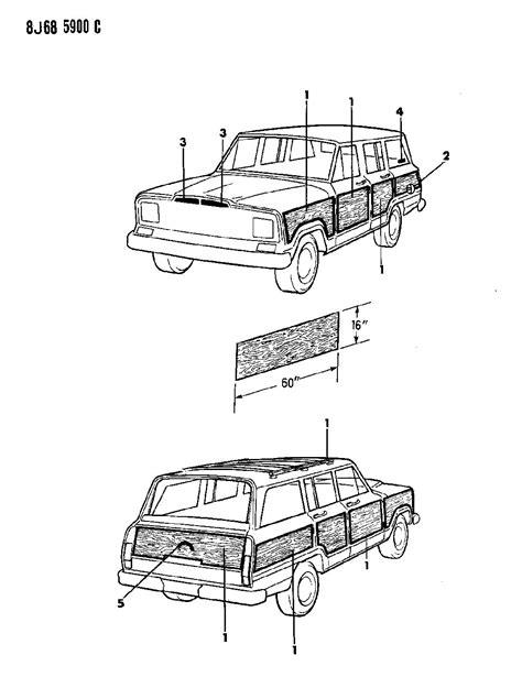 1988 Jeep Parts 1988 Jeep Grand Wagoneer Parts