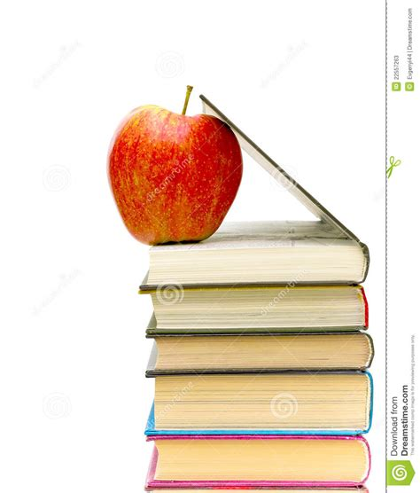 apple picture books apple and books stock photos image 22557263