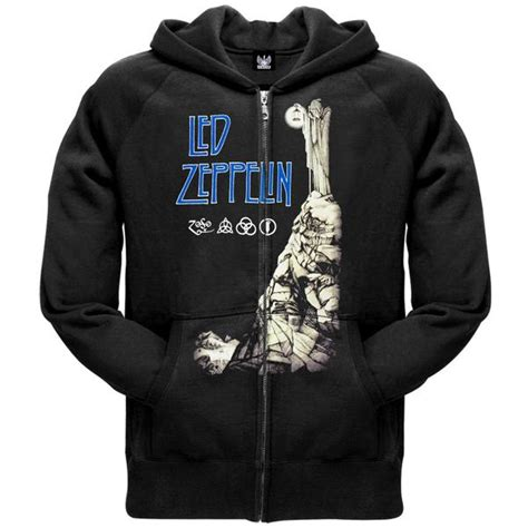 Hoodie Led Zeppelin Hitam 1 and entertainment oldglory