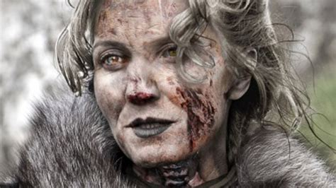 who is the lady in the game of war advert was lady stoneheart in game of thrones season 7