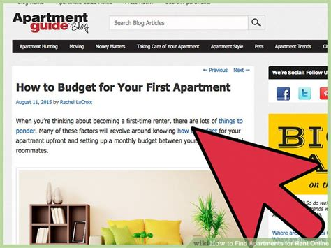 steps to renting an apartment how to find apartments for rent online 14 steps with