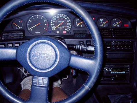 89 Supra Interior by 89 And Up Speedo In 86 88 Dash Clusters