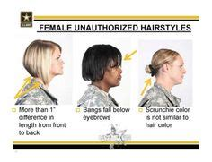 army female hair regulation new army hair regulations ar 670 1 as of 31 march 2014
