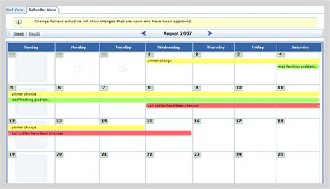 Was The Calendar Changed Support Assistance Helpdesk Gestion Des Changements Itil