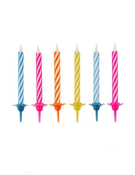 negozio di candele confezione di 10 candele colorate su vegaooparty negozio