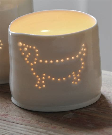 high quality tea lights porcelain sausage dog tea light by luna lighting