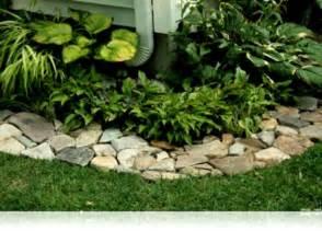 Landscape Rock Edging Ideas Ideas Bamboo Garden Border Bed Edging Landscaping