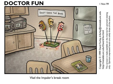the room funniest doctor for november 1 through 5 1999