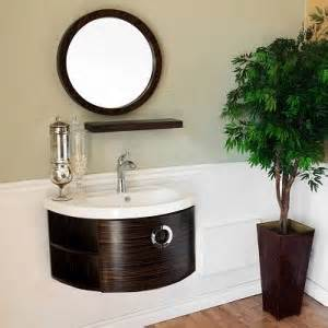 unique stylish wall mounted bathroom vanities for a