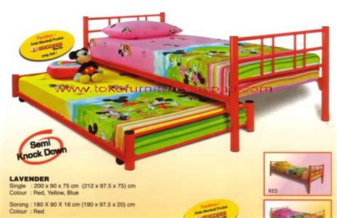 Kasur Sorong Bigland lavender sorong toko kasur bed murah simpati