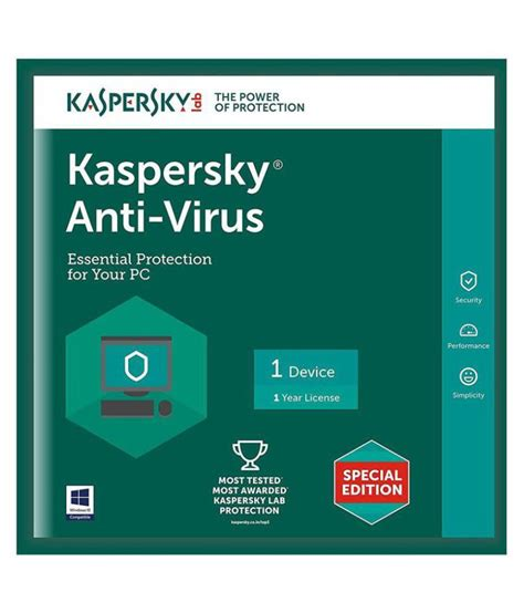 Cd Antivirus Kaspersky kaspersky antivirus version 1 pc 1 year cd buy kaspersky antivirus