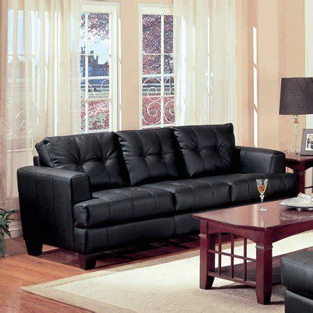 coaster samuel bonded leather sofa colors